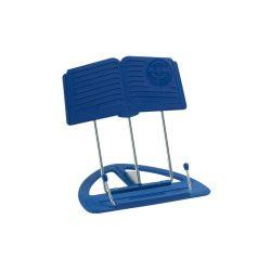 """K&M Uni-Boy """"Classic"""" asztali kottatartó, összecsukható, kék"""