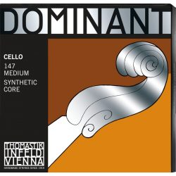 Thomastik Dominant szintetikus csellóhúr SET G,C chrome  medium