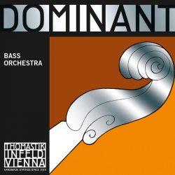 Thomastik DOMINANT Solo ¾ synthetic double bass string SET