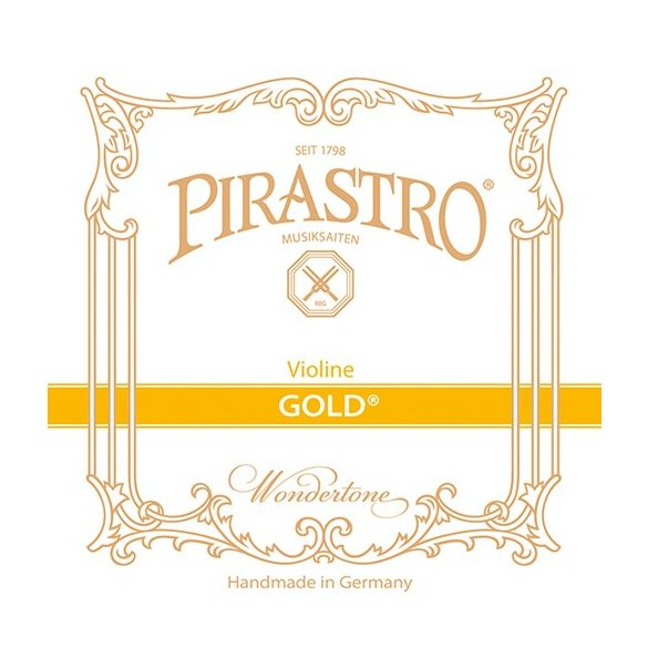 Pirastro Gold hegedű bélhúr E  LOOP STEEL STARK ENVELOPE