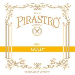 Pirastro Gold cselló bélhúr  SET  MITTEL