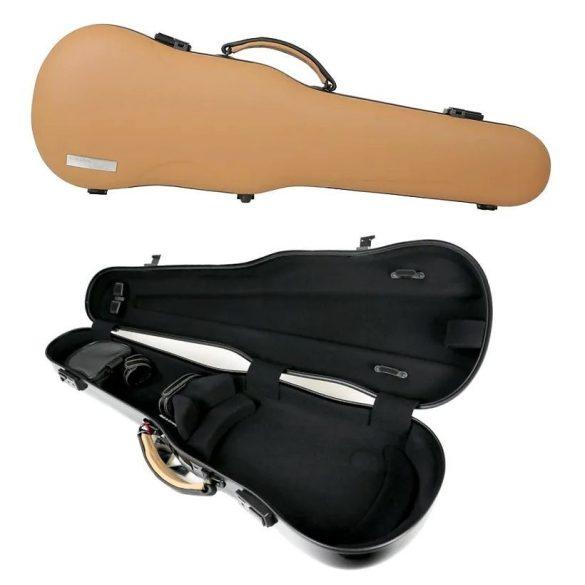 GEWA hegedű formatok Air Prestige 4/4 cappuccino/fekete, extra fogantyúval