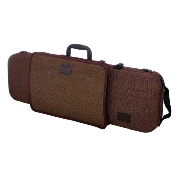 GEWA hegedű koffertok Bio I S 4/4 barna kottazsebbel