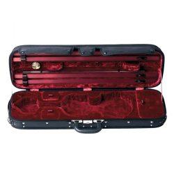 GEWA hegedű koffertok Liuteria Maestro 4/4 fekete, bordó belsővel