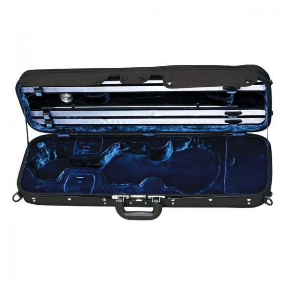 GEWA hegedű koffertok Liuteria Maestro 4/4 fekete, kék belsővel
