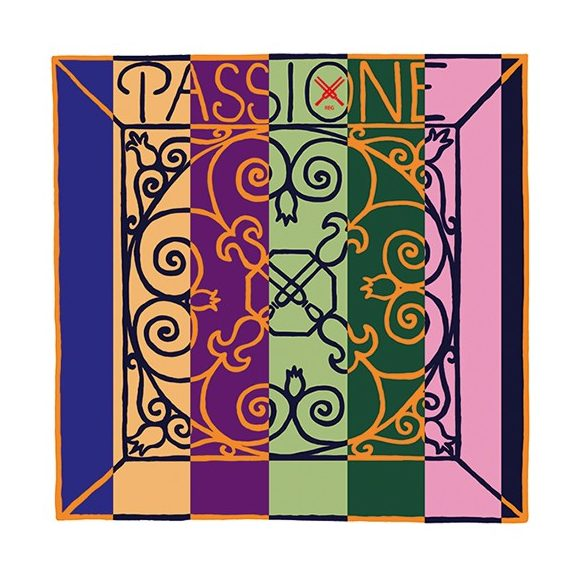 Pirastro Passione hegedű bélhúr E    BALL SILVERY STEEL 26 ENVELOPE