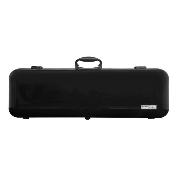 GEWA hegedű koffertok Air 2.1 4/4 magasfényű fekete, fogantyúval