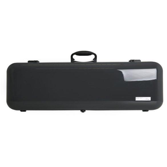 GEWA hegedű koffertok Air 2.1 4/4 magasfényű szürke, fogantyúval