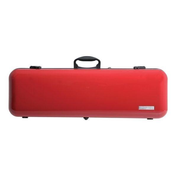 GEWA hegedű koffertok Air 2.1 4/4 magasfényű piros, fogantyúval