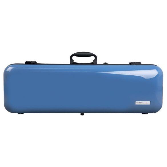 GEWA hegedű koffertok Air 2.1 4/4 magasfényű kék, fogantyúval