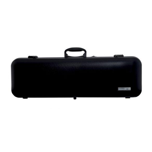 GEWA hegedű koffertok Air 2.1 4/4 matt fekete, fogantyúval