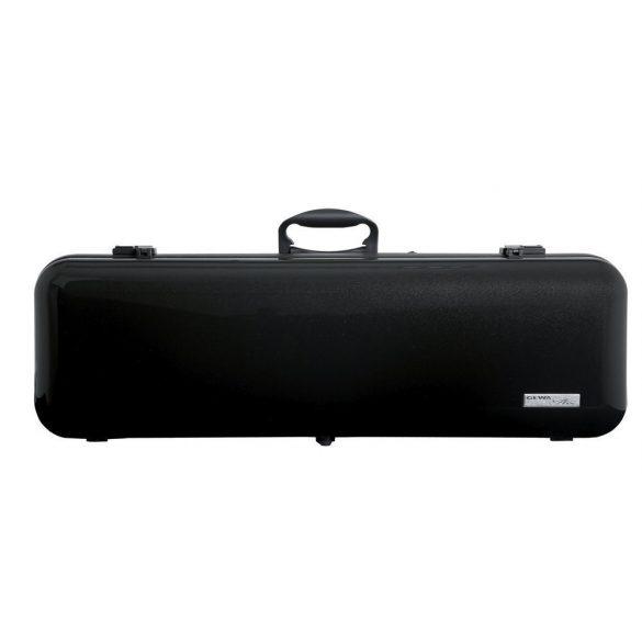 GEWA hegedű koffertok Air 2.1 4/4 magasfényű metál fekete