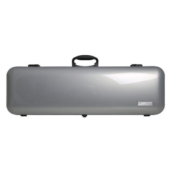 GEWA hegedű koffertok Air 2.1 4/4 magasfényű metál ezüst