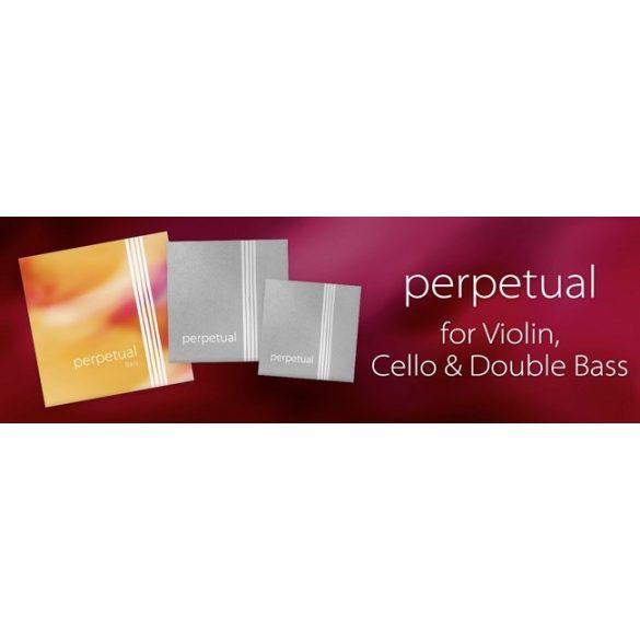 Pirastro Perpetual szintetikus hegedűhúr G    SYNTHETIC/SILVER MITTEL ENVELOPE