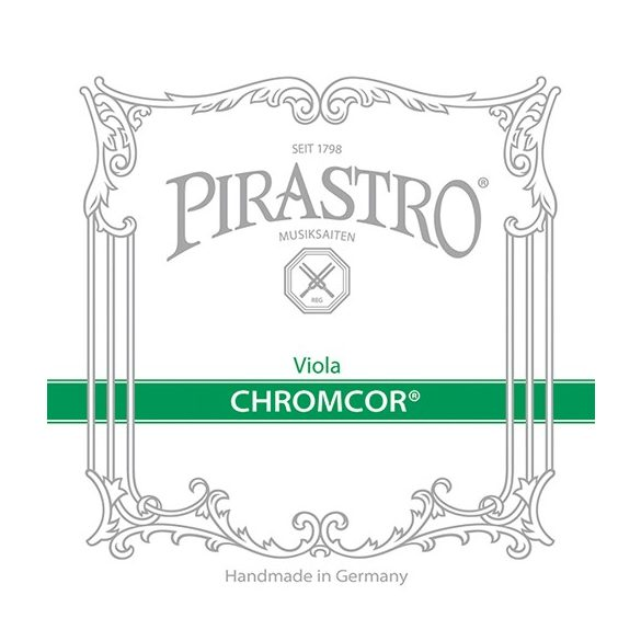 Pirastro Chromcor fém brácsa  húr D  STEEL/CHROME STEEL MITTEL ENVELOPE