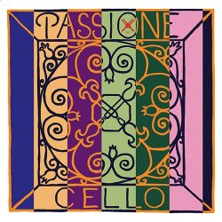 Pirastro Passione fém cselló húr A  STEEL/CHROME MITTEL