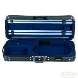 GEWA brácsa koffertok Strato szuper könnyű 36-42,5 cm fekete, kék belsővel