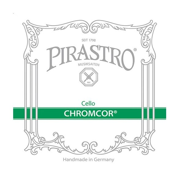Pirastro Chromcore fém cselló húr D  STEEL/CHROME STEEL MITTEL