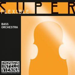 Thomastik SUPERFLEXIBLE Orchestra ¾ steel double bass string SET