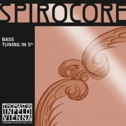 Thomastik SPIROCORE 5th 4⁄4 steel double bass string SET medium