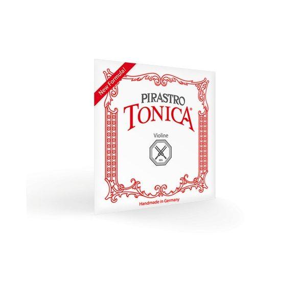 Pirastro Tonica szintetikus hegedűhúr E  LOOP SILVERY STEEL MITTEL ENVELOPE