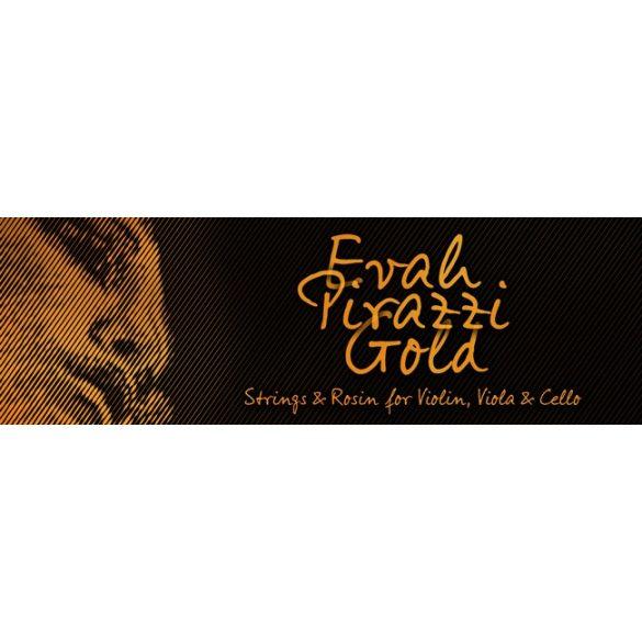 Pirastro Evah Pirazzi Gold szintetikus hegedűhúr SET  G-SILVER BALL-E MITTEL ENVELOPE