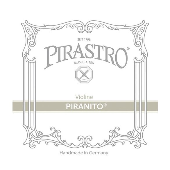 Pirastro Piranito fém hegedű húr  3/4-1/2  E  BALL STEEL MITTEL ENVELOPE