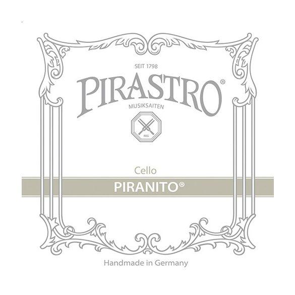 Pirastro Piranito fém cselló húr SET  MITTEL
