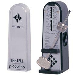 Wittner Taktell Piccolino metronóm, fekete színű