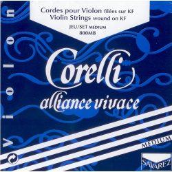 Corelli Alliance Vivace fém hegedűhúr E gombos közepes