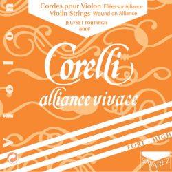 Corelli Alliance Vivace fém hegedűhúr E gombos kemény
