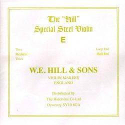 Hill Special hegedű E húr, közepes, gombos