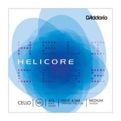 D'Addario Helicore fém cselló húr Set 4/4 medium