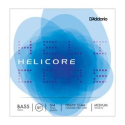 D'Addario Helicore Solo fém nagybőgő húr Set medium