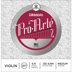 D'Addario Pro Arté szintetikus hegedű húr SET, steel E aluminium D ,medium