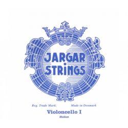 Jargar Classic fém csellóhúr set, chrome steel, medium