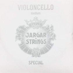 Jargar Special fém csellóhúr A, chrome steel, medium