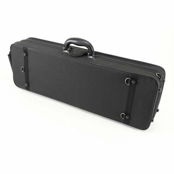 Winter könnyű hegedű koffertok 4/4 fekete/bordó