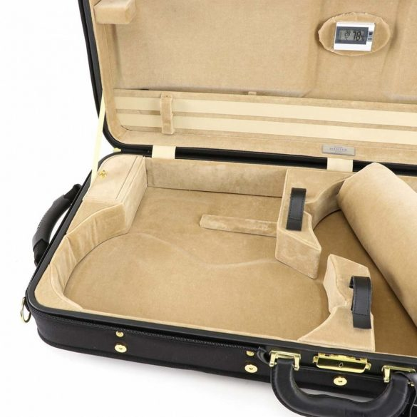 Winter hegedű és brácsa koffertok Vario, fekete-bézs
