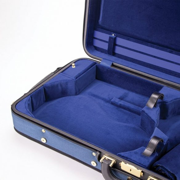 Winter hegedű és brácsa koffertok Vario, kék-kék