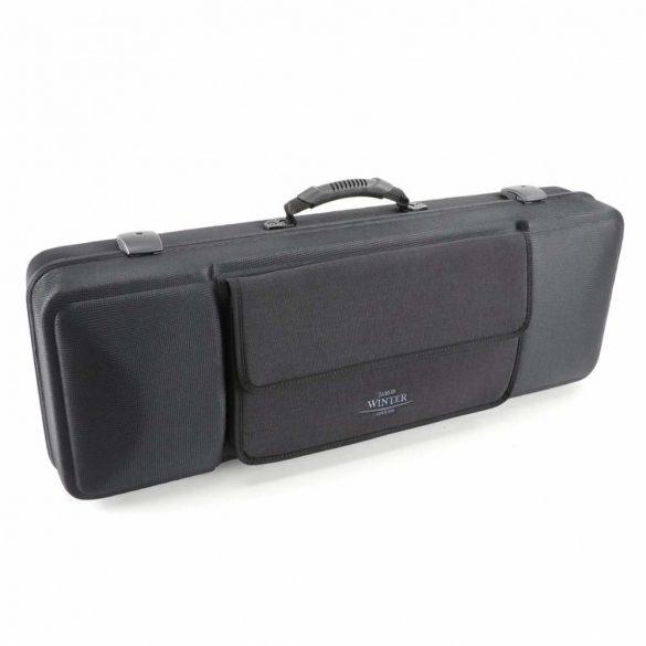 Winter brácsa koffertok Green Line, 2,35 kg,  15'-16,5' - 38-41,5 CM, fekete