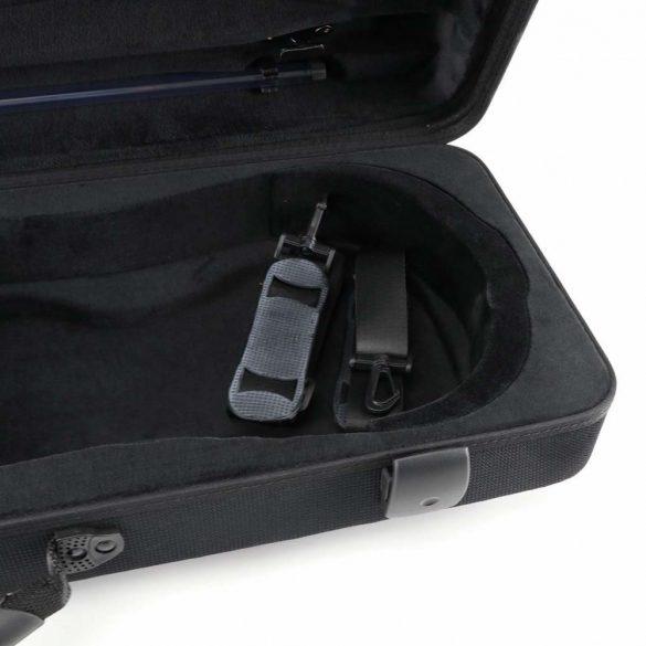 Winter brácsa koffertok Green Line, 2,35 kg,  15'-16,5' - 38-40,5 CM, fekete
