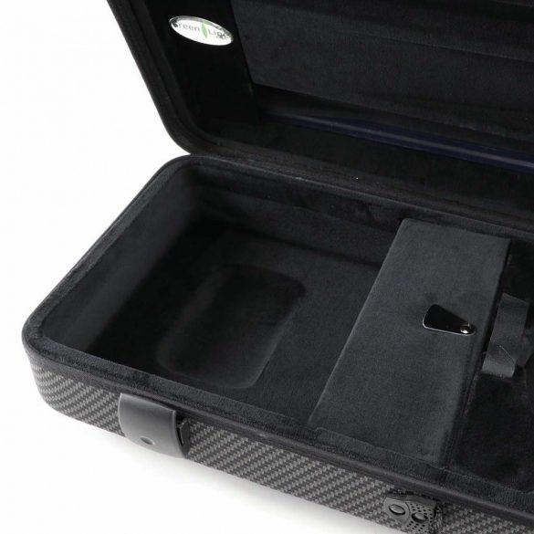 Winter brácsa koffertok Green Line, Carbon design, 2,35 kg, 15'-16,5' - 38-41,5 CM