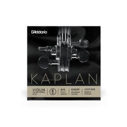 D'Addario Kaplan Golden Spiral fém hegedű húr  E, medium, steel, aluminum