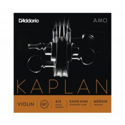 D'Addario Kaplan Amo szintetikus hegedű húr  SET, medium