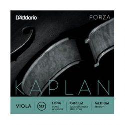 D'Addario Kaplan Forza fém brácsahúr Set medium