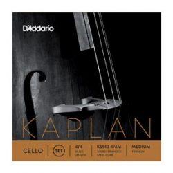 D'Addario Kaplan Solutions cello steel string Set medium