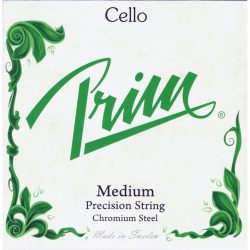 Prim fém csellóhúr SET medium