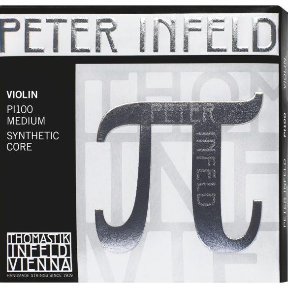 Thomastik Peter Infeld szintetikus hegedűhúr A synthetic core aluminum wound