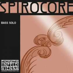 Thomastik SPIROCORE Solo 3/4 steel double bass string SET